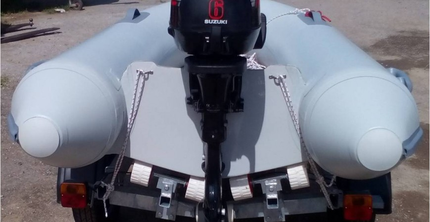 OCEANIC -TENDER 2,45MT - NEW-  ΜΕ DF 6HP